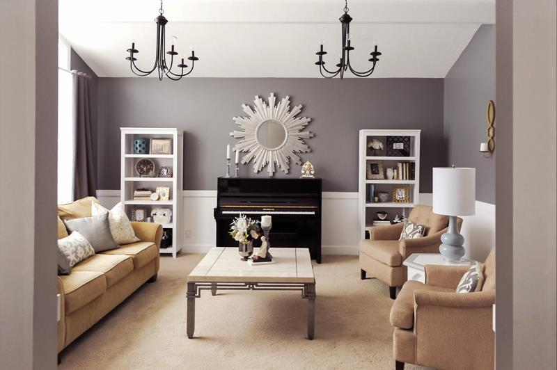 91 Design Ideas For Casual And Formal Living Rooms - Page ...