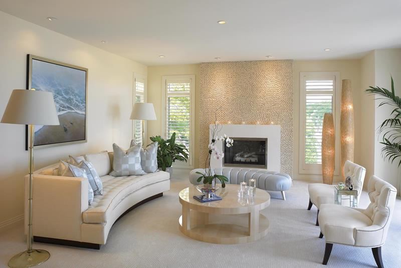 91 Designs For Casual and Formal Living Rooms-28