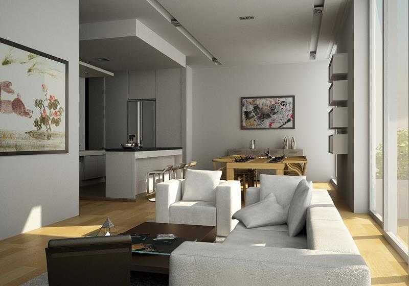 91 Designs For Casual and Formal Living Rooms-32