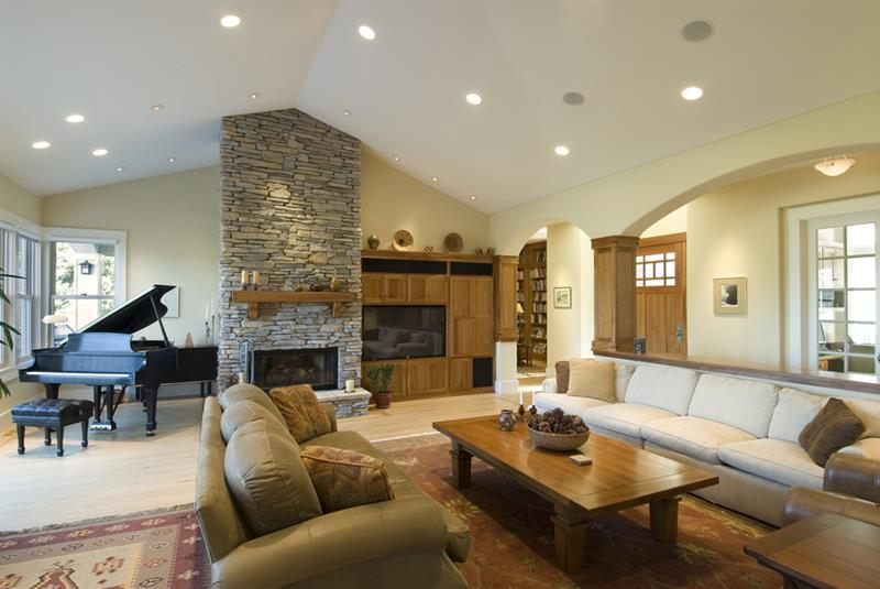 91 Designs For Casual and Formal Living Rooms-34