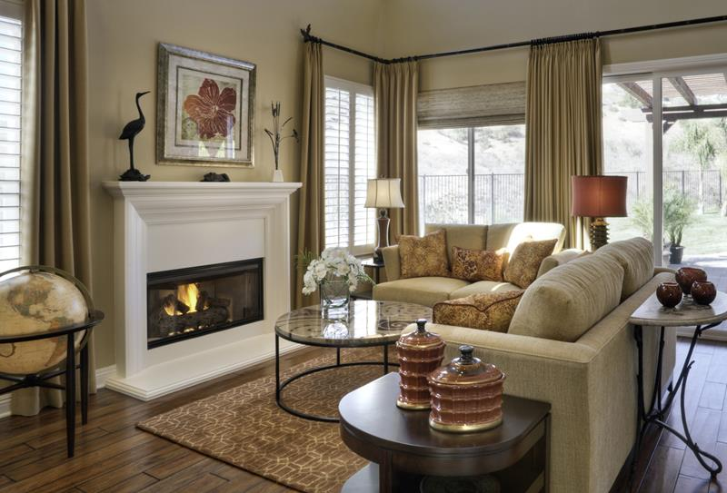 91 Designs For Casual and Formal Living Rooms-38