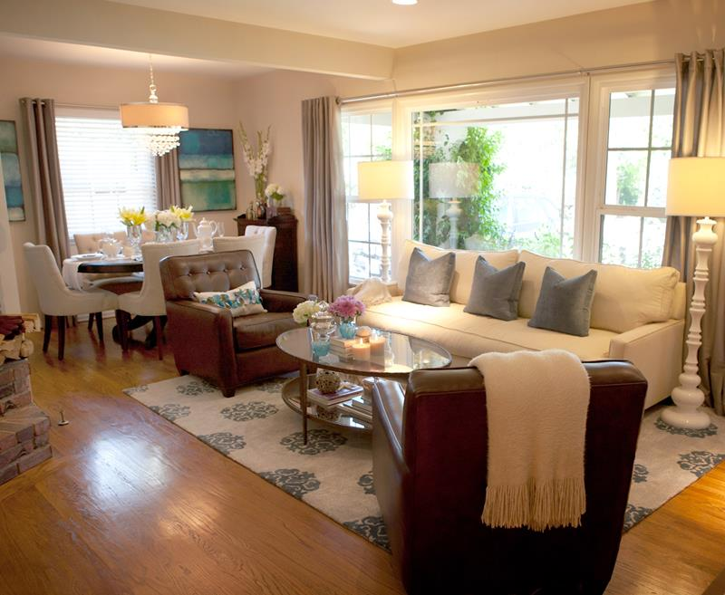 91 Designs For Casual and Formal Living Rooms-39
