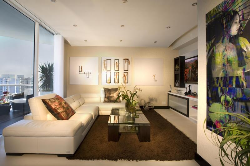 91 Designs For Casual and Formal Living Rooms-5