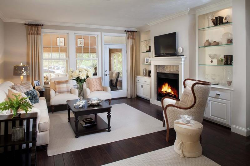 91 Designs For Casual and Formal Living Rooms-52