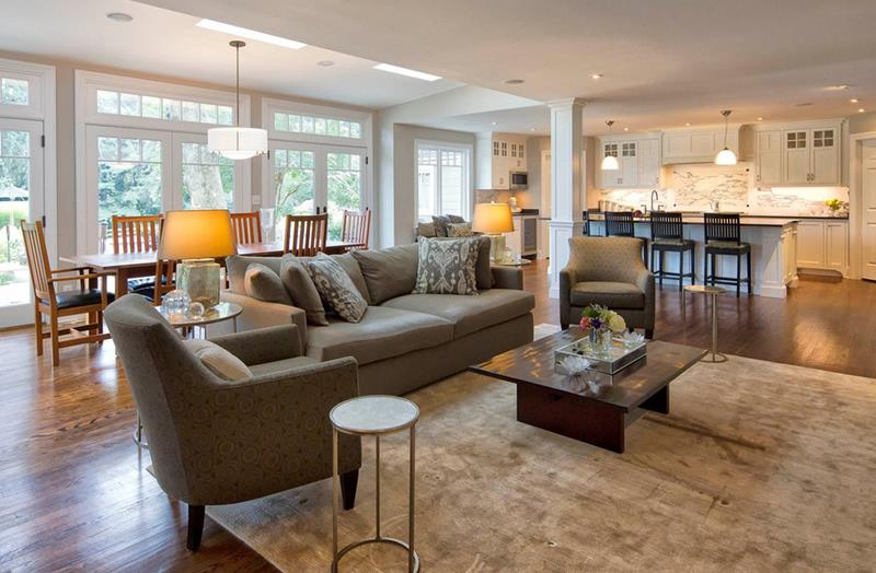 91 Designs For Casual and Formal Living Rooms-53a