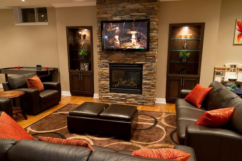 91 Designs For Casual and Formal Living Rooms-59