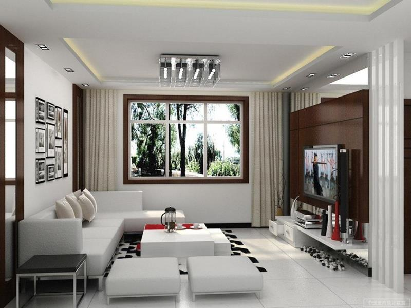 91 Designs For Casual and Formal Living Rooms-61