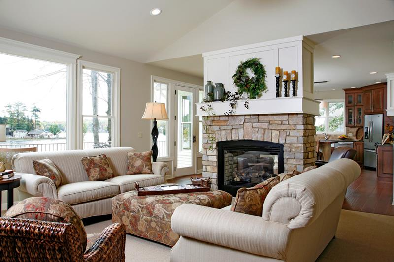 91 Designs For Casual and Formal Living Rooms-7