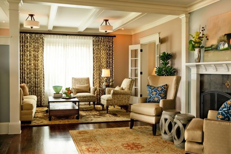 91 Designs For Casual and Formal Living Rooms-75