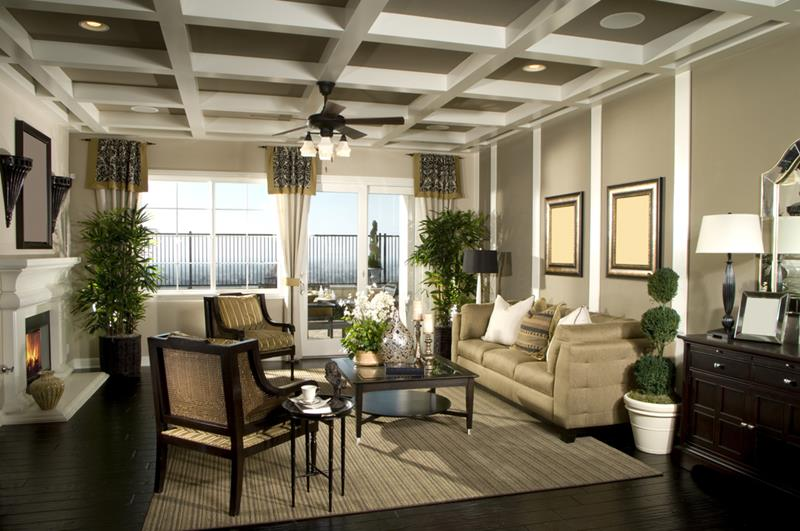 91 Designs For Casual and Formal Living Rooms-8