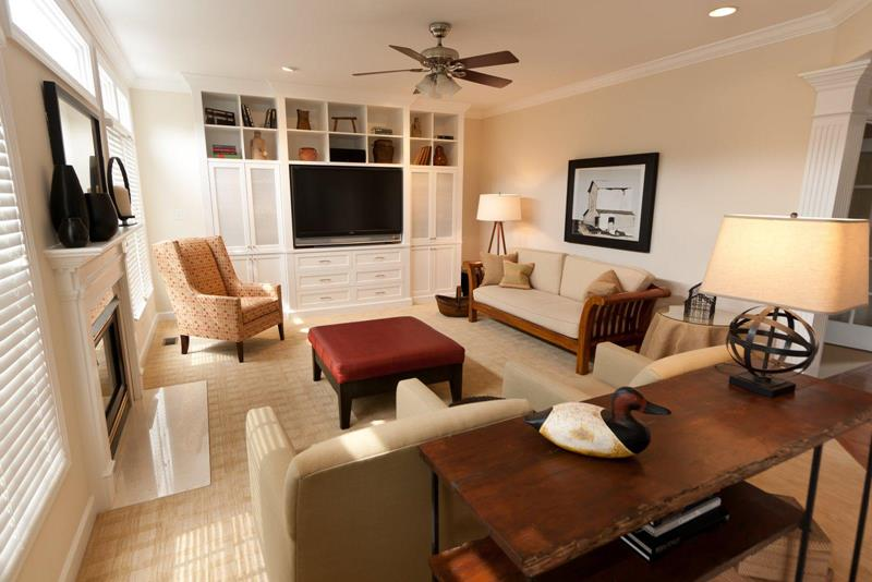 91 Designs For Casual and Formal Living Rooms-80