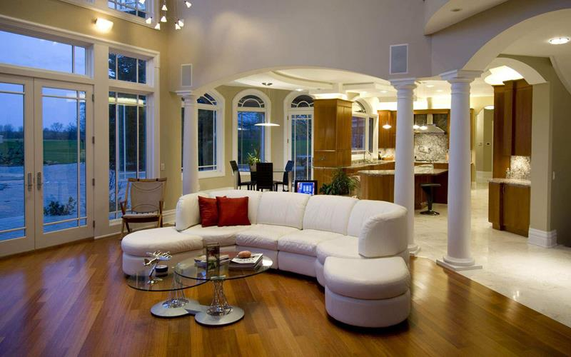 91 Designs For Casual and Formal Living Rooms-86