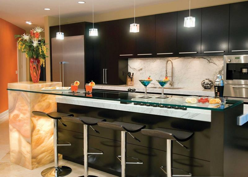 134 Incredible Luxury Kitchen Designs-106