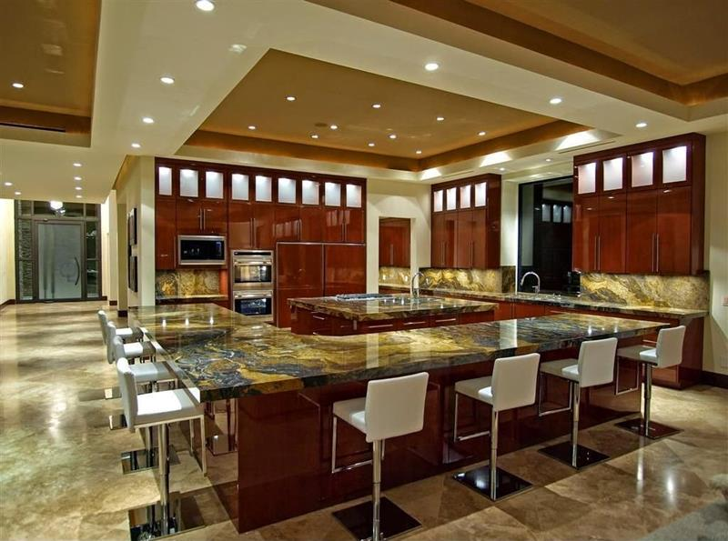 134 Incredible Luxury Kitchen Designs-108