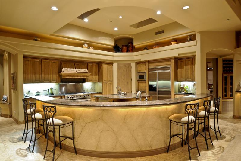 134 Incredible Luxury Kitchen Designs-110