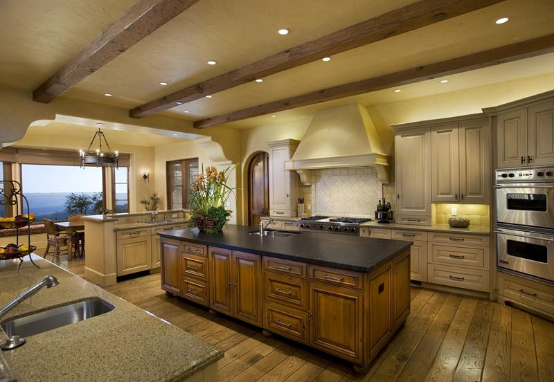 134 Incredible Luxury Kitchen Designs-117