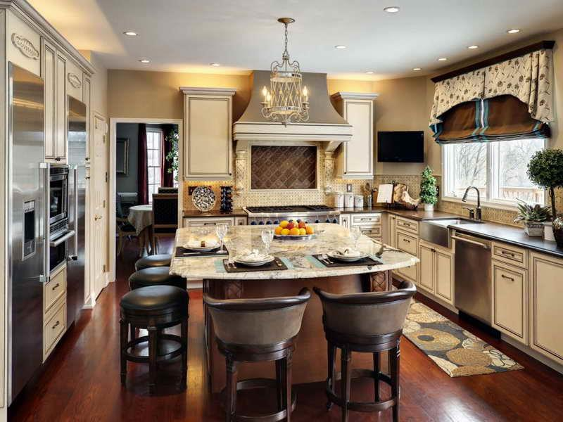 134 Incredible Luxury Kitchen Designs-123
