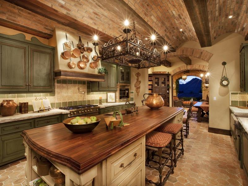 134 Incredible Luxury Kitchen Designs-132