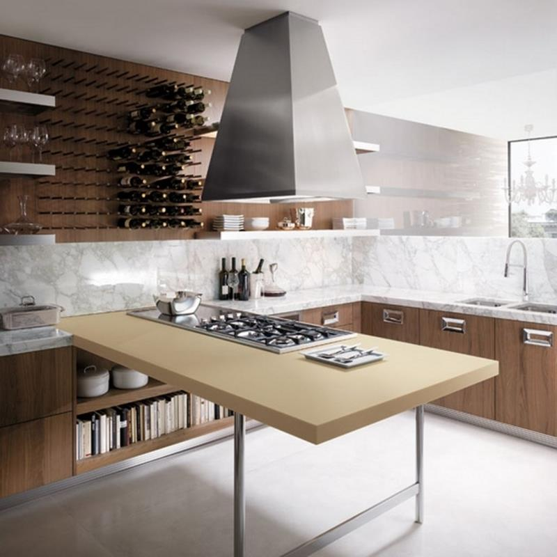 134 Incredible Luxury Kitchen Designs-29
