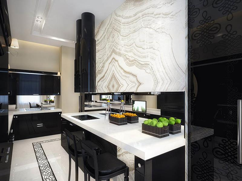 134 Incredible Luxury Kitchen Designs-33