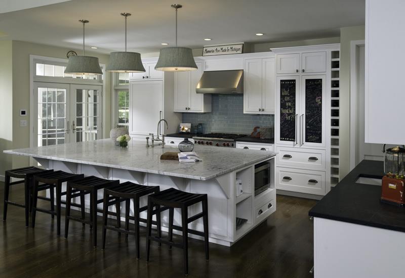 incredible black white kitchen design ideas | 134 Incredible Luxury Kitchen Designs - Page 7 of 27