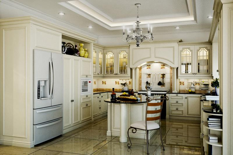 134 Incredible Luxury Kitchen Designs-54