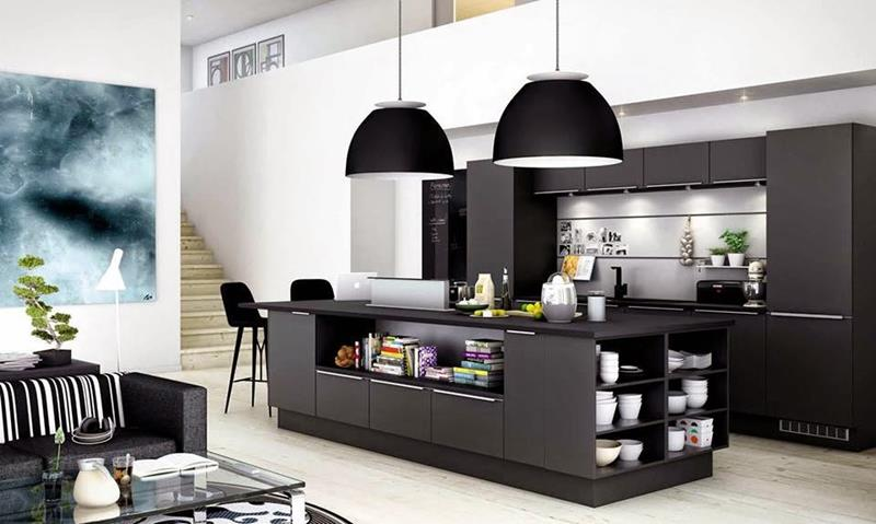 134 Incredible Luxury Kitchen Designs-58