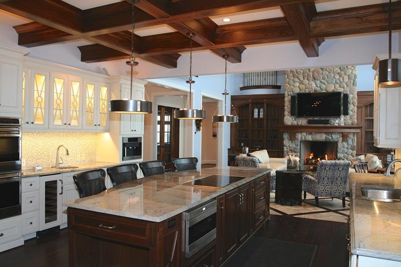 134 Incredible Luxury Kitchen Designs-65
