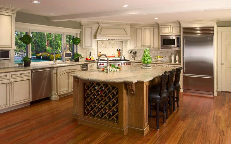 134 Incredible Luxury Kitchen Designs-73