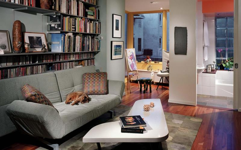 18 Pictures With Ideas for the Layout of Small Living Rooms-18