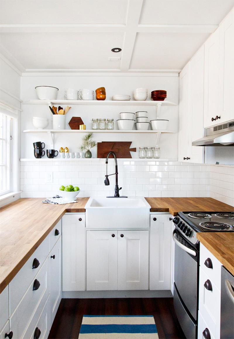 22 Jaw Dropping Small Kitchen Designs-5