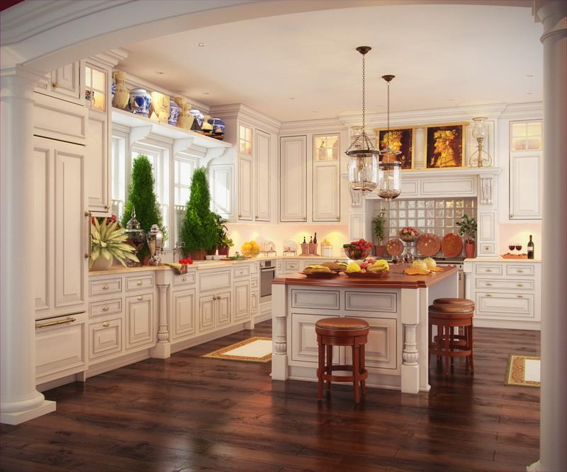 Stunning Kitchens: 22 Stunning Kitchen Designs With White Cabinets