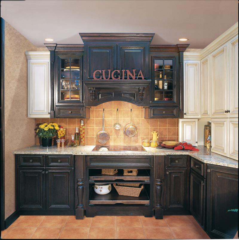 Images Of Black Kitchen Cabinets: 23 Beautiful Kitchen Designs With Black Cabinets