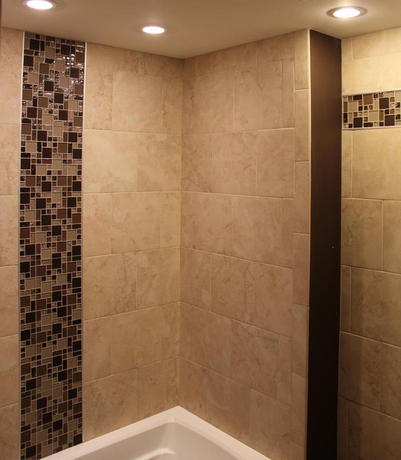 23 Stunning Tile Shower Designs-23