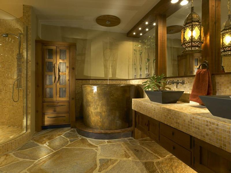 24 Luxury Master Bathrooms With Soaking Tubs-10
