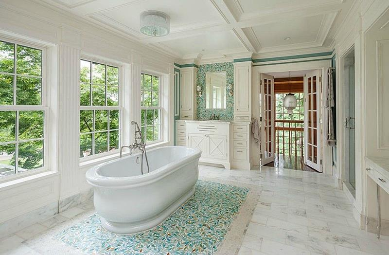 24 Luxury Master Bathrooms With Soaking Tubs-17