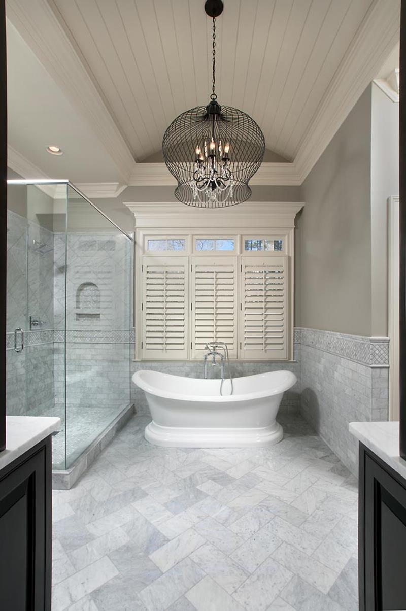24 luxury master bathrooms with soaking tubs - page 2 of 5