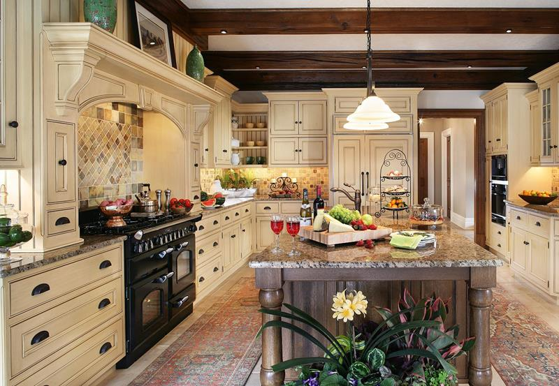 24 Traditional Kitchen Designs-title
