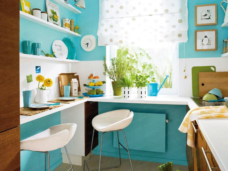25 Small Kitchen Design Ideas-20