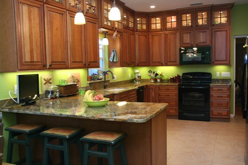 25 Stunning Kitchen Color Schemes-19