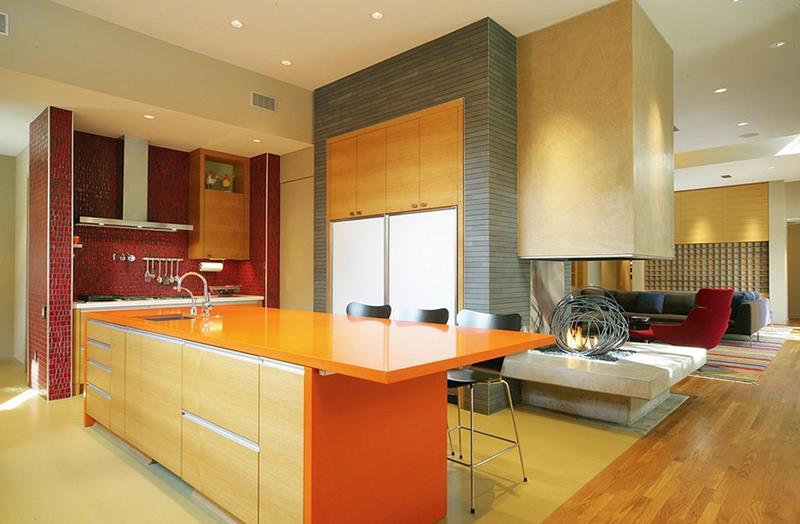 25 Stunning Kitchen Color Schemes-21