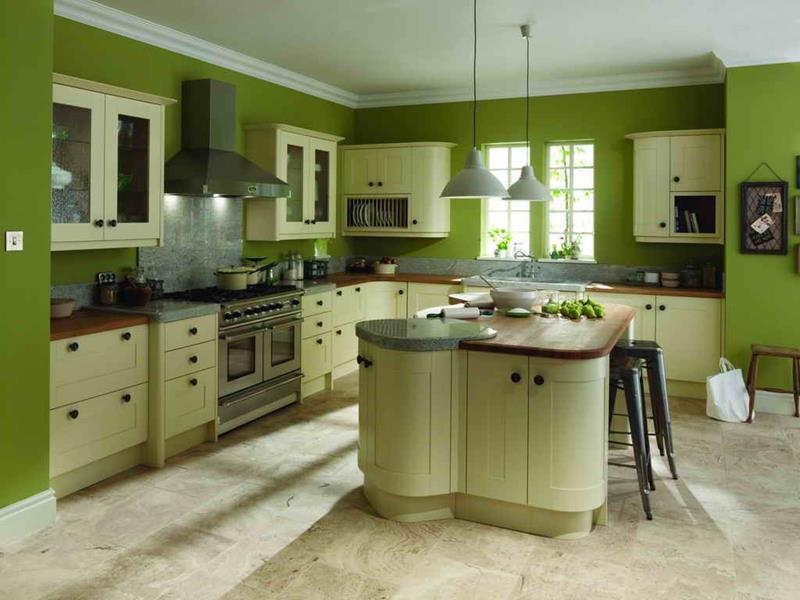 25 Stunning Kitchen Color Schemes-24