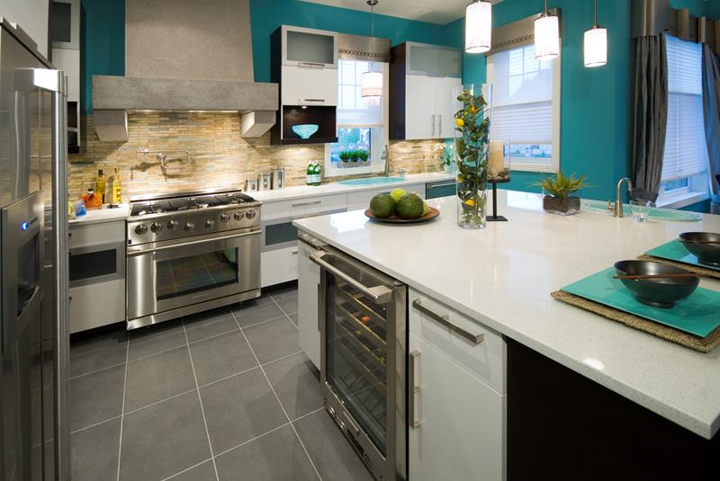 25 Stunning Kitchen Color Schemes-25