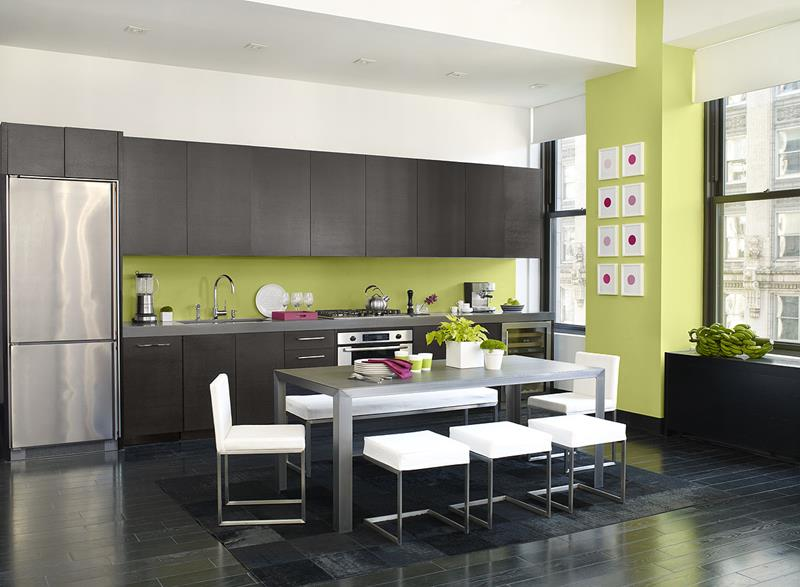25 Stunning Kitchen Color Schemes-title