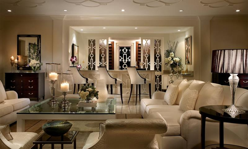 43 Elegantly Decorated Living Rooms-19