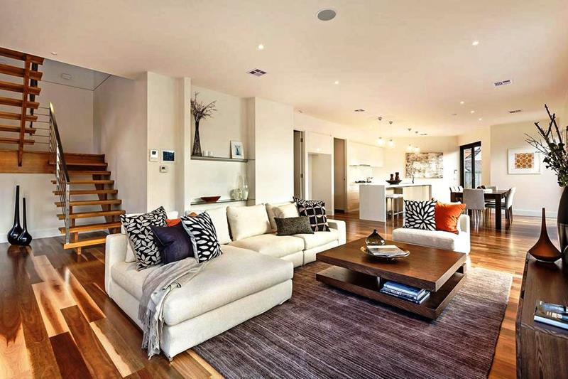 43 Elegantly Decorated Living Rooms-2