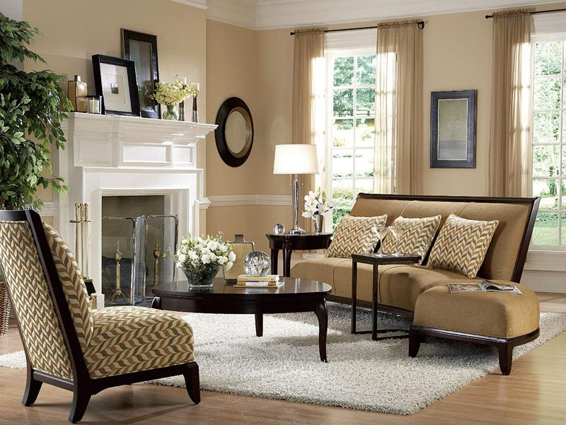 43 Elegantly Decorated Living Rooms-3