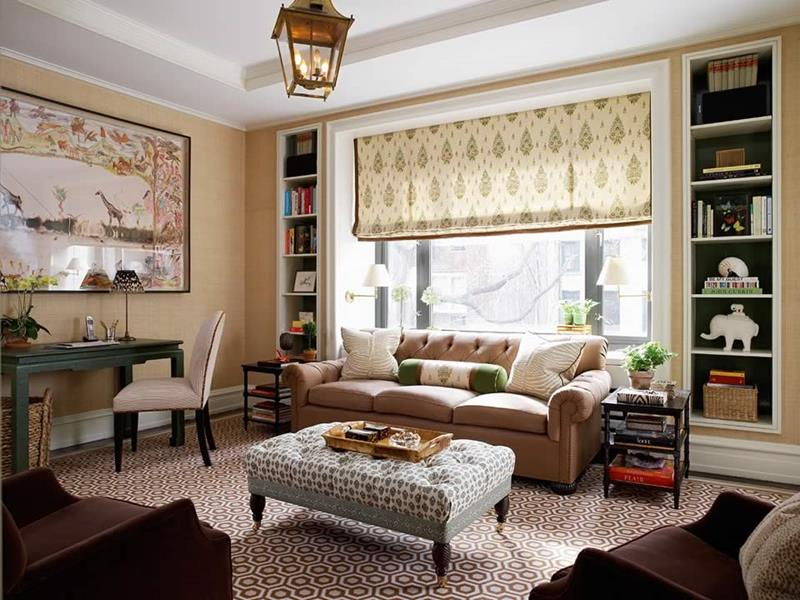 43 Elegantly Decorated Living Rooms-31