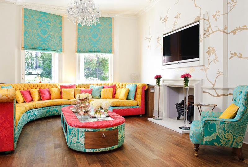 43 Elegantly Decorated Living Rooms-32