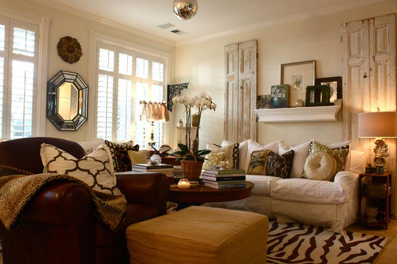 43 Elegantly Decorated Living Rooms-34